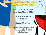 Co-ed Baby Shower Invites Co Ed Bbq Baby Shower Invitation by Playfulprints On Etsy