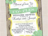 Co-ed Bridal Shower Invitations Couple S Wedding Shower Invitation Couples Shower