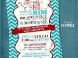 Co-ed Bridal Shower Invitations something for Him Her or something for the Both Of them