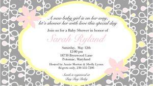 Coed Baby Shower Invitations Wording Ideas Coed Baby Shower Invitation Wording