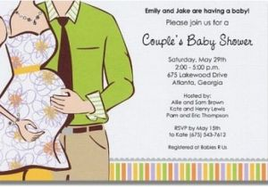 Coed Baby Shower Invitations Wording Ideas Fun Coed Baby Shower Invitation and Favor Ideas — Unique