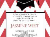 College Graduation Dinner Invitation Wording College Graduation Dinner Invitation Eyecarlie Designs