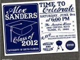 College Graduation Party Invitation High School or College Graduation Party by
