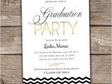 College Graduation Party Invitation Wording Graduation Party Invitation Printed Summer Party