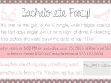 Combined Bridal Shower and Bachelorette Party Invitations Sparkling Twine Design & Crafts – A Place for Pretty Things