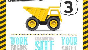 Construction theme Party Invitation Template This Construction Birthday Party Will Go Down as One Of