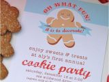 Cookie Decorating Party Invitation Wording Blush Kids Christmas and Cookie Decorating Party On Pinterest