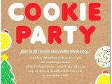 Cookie Decorating Party Invitation Wording Christmas Cookie Decorating Party Invitation Wording