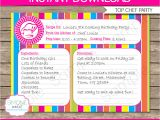 Cooking Party Invitation Template Free Recipe Card Cooking Party Invitation Template
