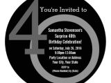 Cool 40th Birthday Invitations 40th Birthday Invitations Men