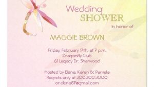 Cool Bridal Shower Invitations Dragonfly theme Unique Bridal Shower Invitations 5 25