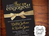Cool Engagement Party Invitations Surprise Engagement Party Invitations Cimvitation
