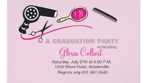 Cosmetology Graduation Invitations Beautician Beauty School Graduation Invites 5 Quot X 7
