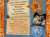 Country Style Baby Shower Invitations Country Western Cowboy Shower Invitation Baby or Bridal