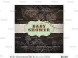 Country themed Baby Shower Invitations Rustic Country themed Baby Shower Invitation