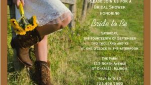 Country themed Bridal Shower Invitations Country Wedding Invitations Rustic Wedding Chic