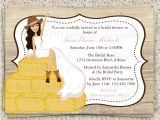 Country themed Bridal Shower Invites Bridal Shower Invitations Bridal Shower Invitations