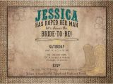 Country themed Bridal Shower Invites Bridal Wedding Shower Invitation She S Roped Her Man