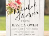 Country themed Bridal Shower Invites Country Wedding Shower Invitations