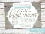 Country themed Bridal Shower Invites Rustic Country Wedding Shower Ideas