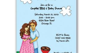 Couple Baby Shower Invitation Wording Couples Baby Shower Invitations Wording