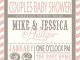 Couple Baby Shower Invites Enchanting Couples Baby Shower Invitations Girl theruntime