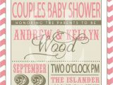 Couple Baby Shower Invites On Sale Couples Baby Shower Invitation