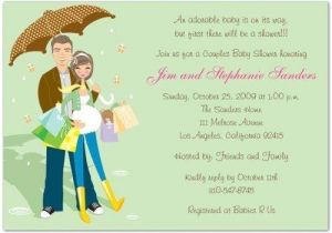 Couples Baby Shower Wording On Invitations Couple Baby Shower Invitation Wording A Birthday Cake