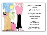 Couples Baby Shower Wording On Invitations Expecting Couple Baby Shower Invitations