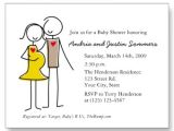 Couples Baby Shower Wording On Invitations Unique White Couples Baby Shower Invitations Bs064