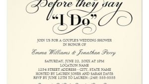 Couples Bridal Shower Invitation Wording Samples Couple 39 S Wedding Shower Invitation Wedding Vows