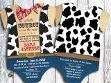 Cowboy Baby Shower Invites Cowboy Baby Shower Invitation Western Shower Invite Cow