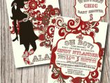 Cowboy themed Baby Shower Invites Western Baby Shower Invitations Western by