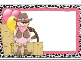 Cowgirl Birthday Invitations Templates Cowgirl Birthday Invitations Ideas – Bagvania Free