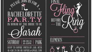 Create Bachelorette Party Invitations Free Free Bachelorette Party Invitations