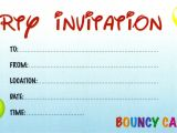 Create Your Own Birthday Party Invitations Free Design Your Own Birthday Invitations Create Your Own