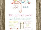 Creative Bridal Shower Invitations Umbrella Bridal Shower Invitations Recipe Card Wedding