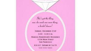 Creative Bridal Shower Invitations Unique Ring Bridal Shower Invitation On Pink 5 Quot X 7