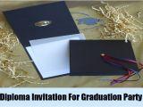 Creative Graduation Invitation Ideas Unique Ideas for Graduation Party Invitation How to Make