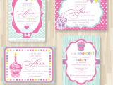 Cupcake Party Invitation Template Free Best Photos Of Cupcake Birthday Party Invitation Templates