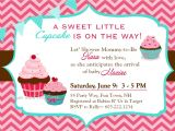 Cupcake Party Invitation Template Free Cupcake Baby Shower Invitations Template Resume Builder