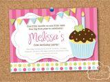 Cupcake Party Invitation Template Free Cupcake Birthday Invitations Gangcraft Net