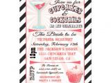 Cupcakes and Cocktails Bridal Shower Invitations Cupcakes and Cocktails Bridal Shower Invitations 5 Quot X 7