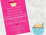 Custom Birthday Invitations Walgreens Cute as A Cupcake Birthday Invitation 4×6 Walgreens Picture