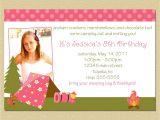 Custom Birthday Invitations Walgreens the Walgreens Birthday Invitations Free Ideas