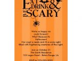 Custom Halloween Birthday Invitations Halloween Party 5×7 Paper Invitation Card Zazzle