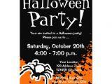 Custom Halloween Birthday Invitations Halloween Party Invitations Custom Invites Zazzle