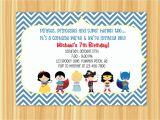 Custom Invitations Birthday Birthday Invitation Card Custom Birthday Party
