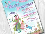 Custom Invitations Birthday Mary Poppins Party Invitations Printable Custom Invitations