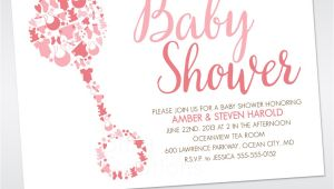 Custom Make Baby Shower Invitations Custom Design Baby Shower Invitations